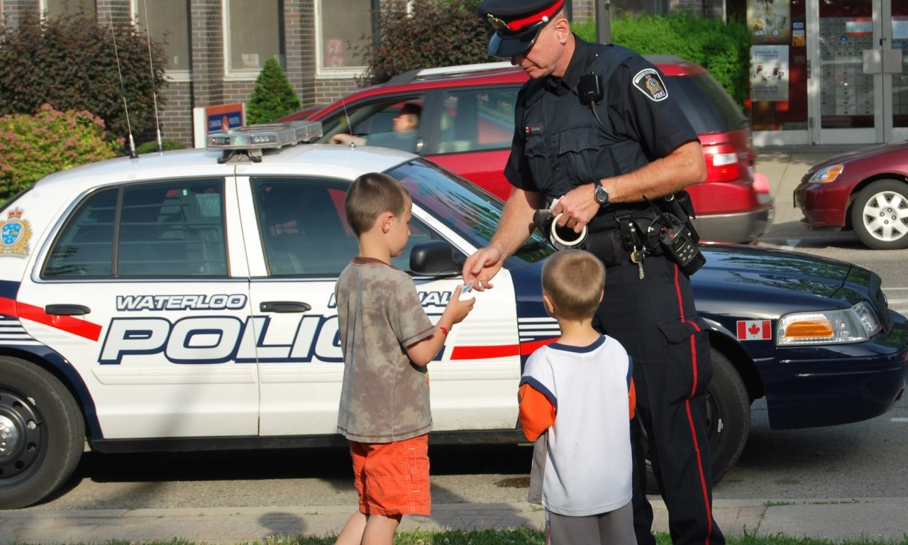 police services with children